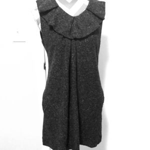 Banana Republic Italian wool Tweed Dress SZ 8 EUC